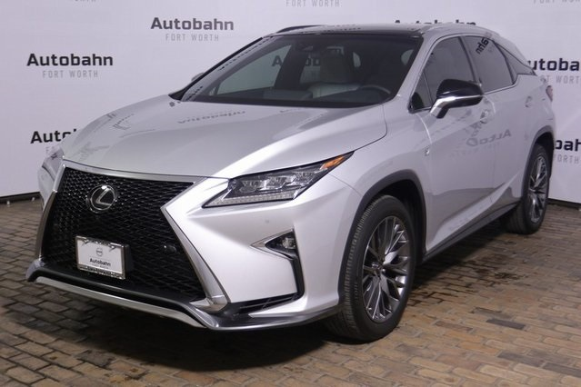 Pre Owned Lexus >> Pre Owned 2018 Lexus Rx 350 F Sport Used