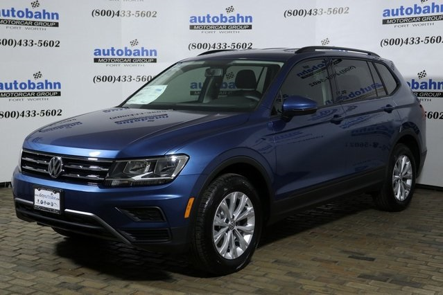 New 2019 Volkswagen Tiguan S 4d Sport Utility In Fort Worth Vw9233
