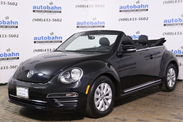 New 2019 Volkswagen Beetle Convertible 2 0t S 2d In Fort Worth Vw9523 Autobahn