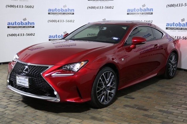 Pre Owned 2016 Lexus Rc 300 2d Coupe In Fort Worth P3815a