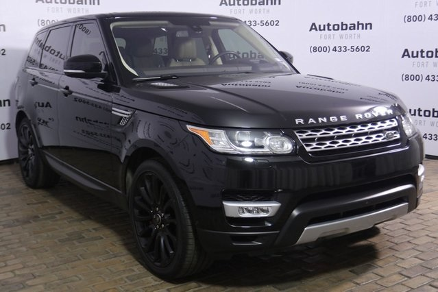 Land Rover Fort Worth >> Pre Owned 2016 Land Rover Range Rover Sport 5 0l V8 Supercharged Used